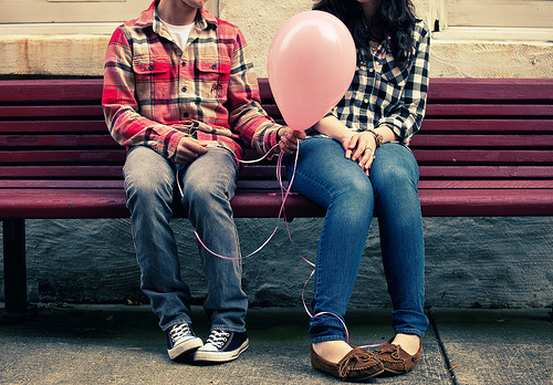 courting balloon