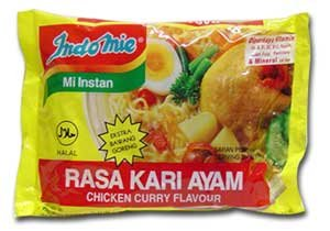 My one and only instant noodles in the world: Chicken Curry Flavoured Indomie