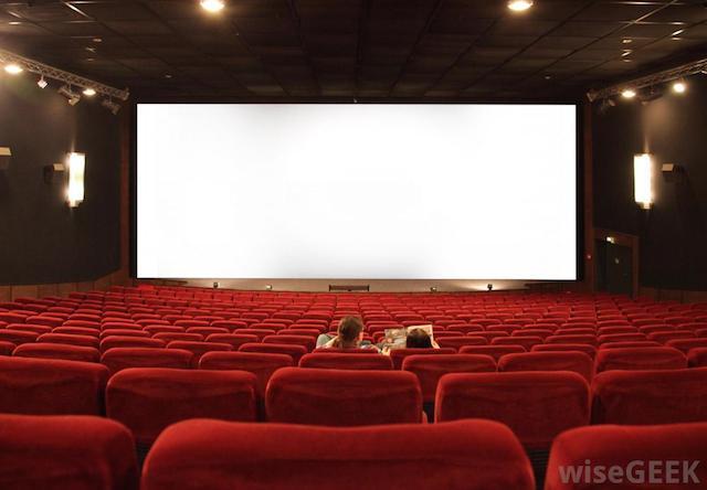 cell phone on cinema