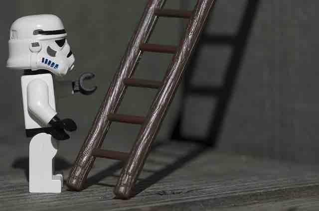 A Macro of the Mini-Stormtrooper