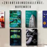 2018 Reading Challenge: November