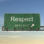 How respect is earned: by talking the same language